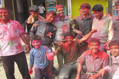 Holi-the festival of colors