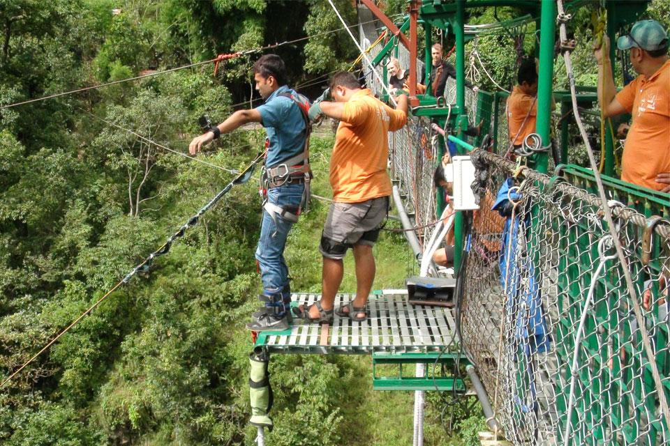 Bungee Jumping in Nepal Day Tour