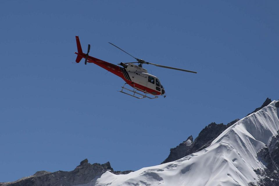Helicopter Tour in Langtang - Day Tour
