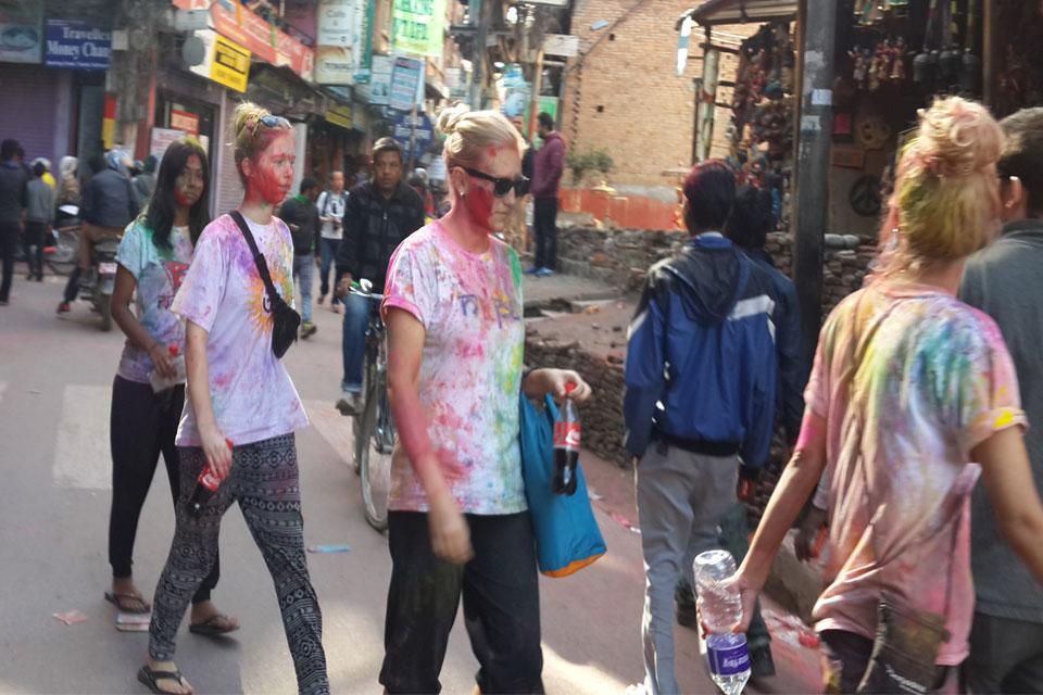 Holi Tour Nepal