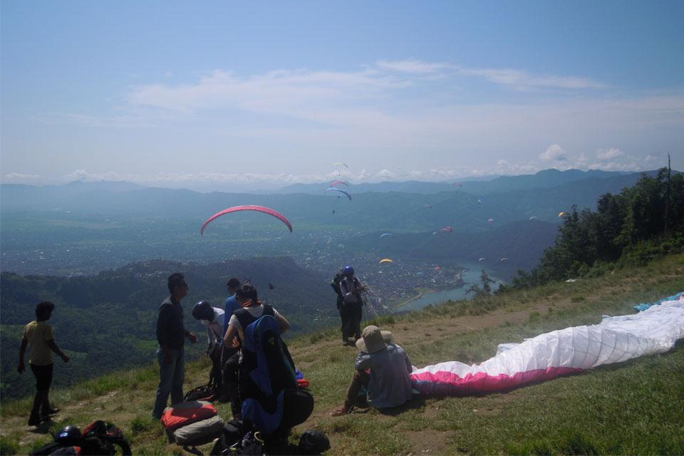 Paragliding in Pokhara Day Tour